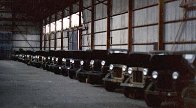 Surplus M606 Jeeps