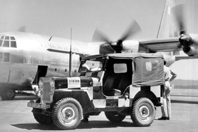 RAAF Jeep and Hercules