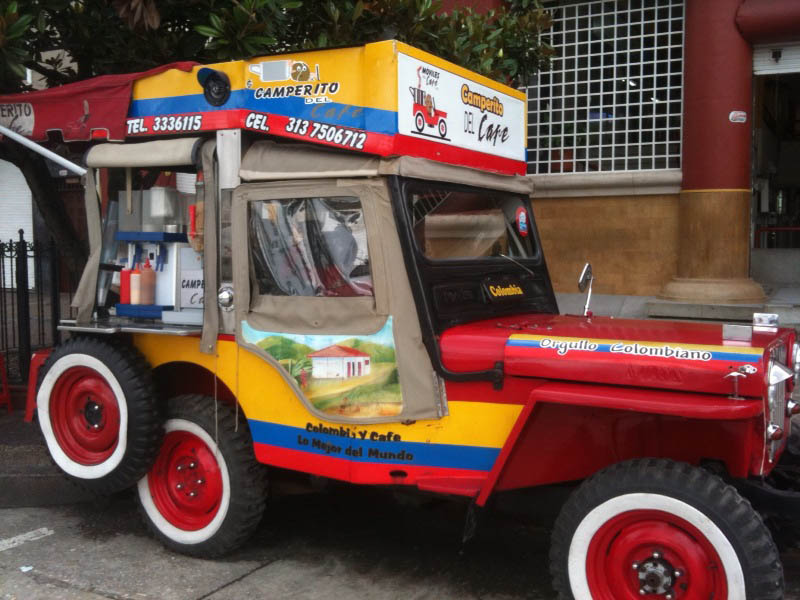 Colombia Loves Willys on The CJ3B Page