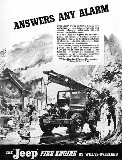Willys Export ad