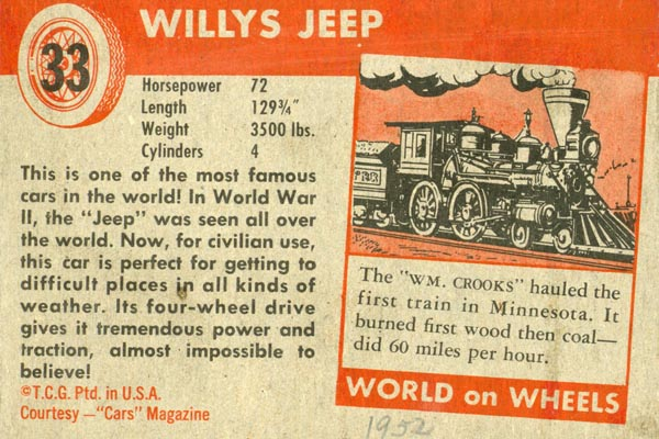 #33 Willys Jeep