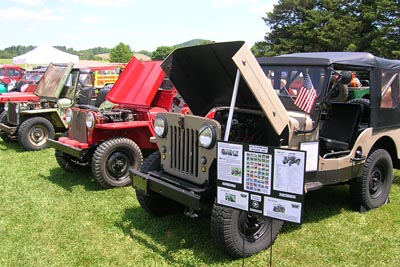 Willys Picnic June 2014