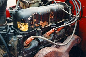 Original valve cover label