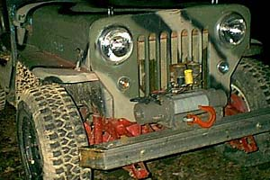 Removeable winch