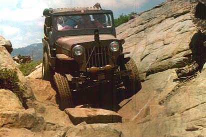 CJ-3B on the rocks