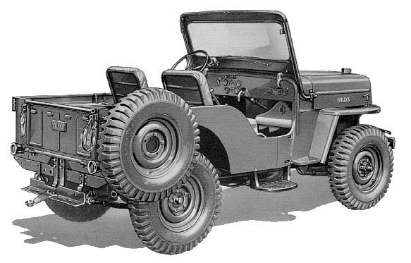 Jeep Side View Drawing Side Steps For Your Jeep