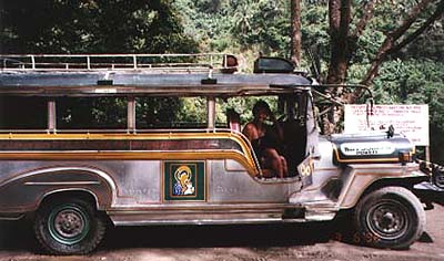 Stainless steel jeepney