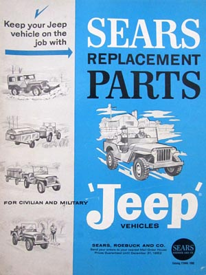 Replacement Jeep Parts 1962