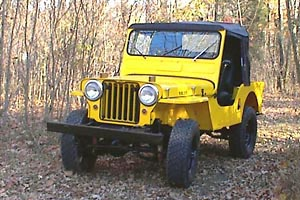 Bill Lagler's CJ-3A