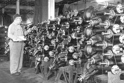 Oldtime with his axle collection