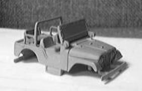 Auto World CJ-5 prototype