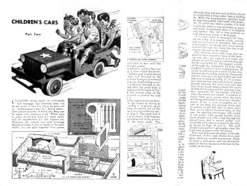 wooden jeep plans