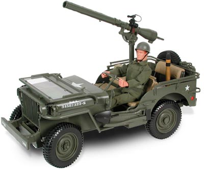 GIJoe with recoilless rifle