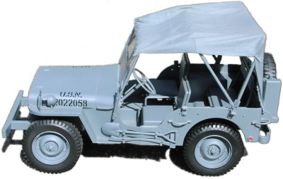 SOTW Shore Patrol Jeep