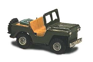 Small tinplate Jeep