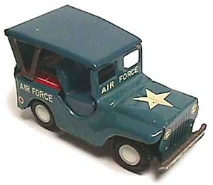 Air Force Jeep