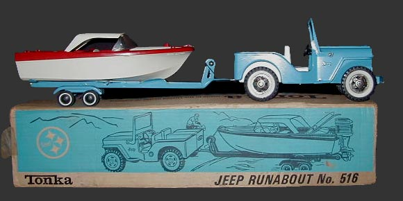 Runabout with Clipper boat