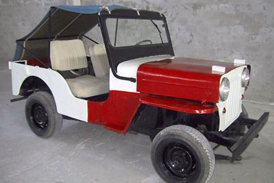 First Turkish Jeep