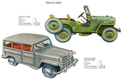 CJ-3B and Station Wagon