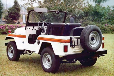 Ford do Brasil CJ-5