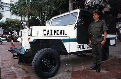 Caimovil Police Jeep
