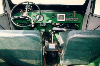 Interior with hitch control