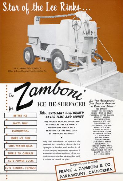 Jeep au travail ZamboniAd2400