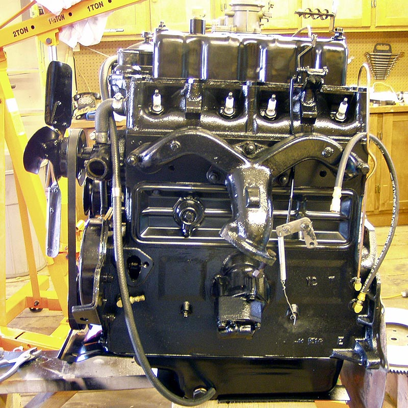Engine Photos on The CJ3B Page Jeep Hurricane Engine