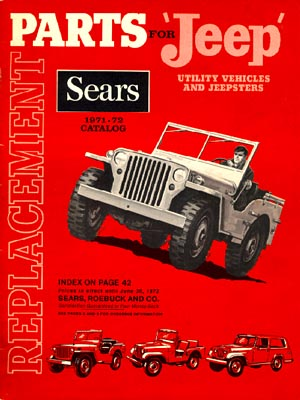 Replacement Jeep Parts 1971