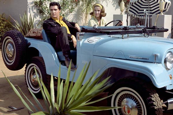 Elvis and Julie Adams