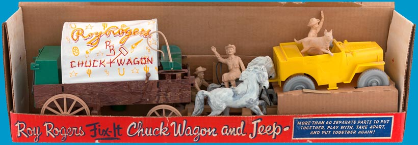 Chuck wagon set