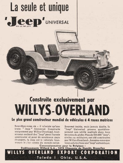 Wilford S.A. ad for CJ-3A